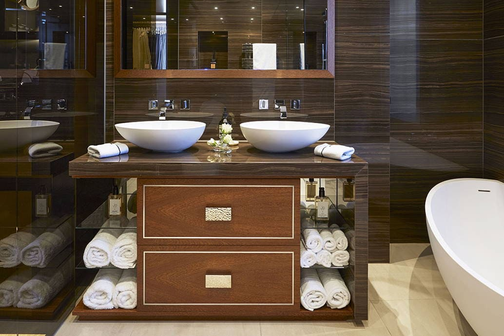 Arredo bagno,mobili bagno,mobili bagno sospesi e a terra - Basin Adjusted